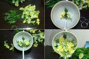 Mách bạn cách cắm hoa đẹp và độc đáo cho bàn tiệc 4