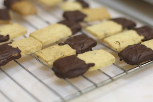 Bánh quy hạt dẻ bùi thơm hấp dẫn 8