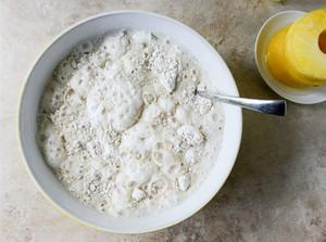 Bữa sáng ngon với pancake chuối dứa thơm phức 5