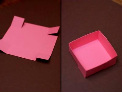 Cách làm hộp đựng quà kiêm túi giấy 2 trong 1 4