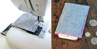 Tự may túi đựng điện thoại tiện ích thật dễ dàng 11