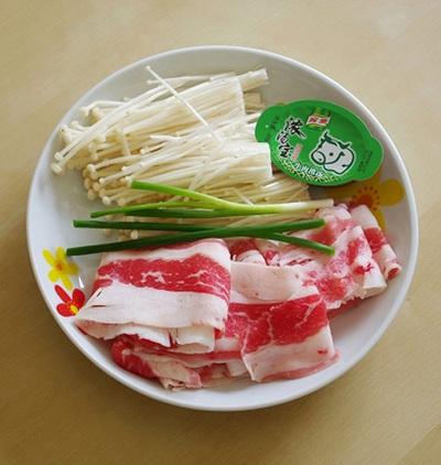 Canh thịt nấu nấm ngọt thơm mát lành 3