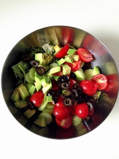 Salad rau quả tươi ngon giảm cân cho mùa hè 8