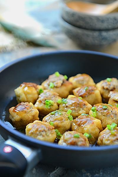 Biến tấu mới cho món đậu phụ nhồi thịt cực ngon 11