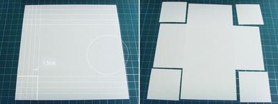 Cách làm khung ảnh 3D bằng bìa cứng 2