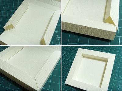 Cách làm khung ảnh 3D bằng bìa cứng 9