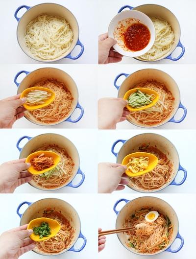 Bún trộn kiểu Hàn Quốc cho bữa trưa văn phòng ngon miệng 10