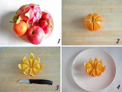 Hướng dẫn cách bày hoa quả sinh động và hấp dẫn 5