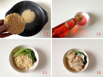Cách nấu mì hoành thánh cực thơm ngon 11