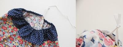 Tự may váy cột dây và jumpsuit dễ thương cho bé 10