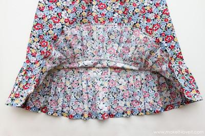Tự may váy cột dây và jumpsuit dễ thương cho bé 16