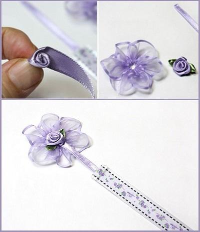 Tự chế bookmark hoa xinh yêu bắt mắt 11