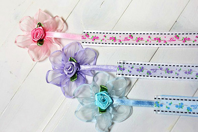 Tự chế bookmark hoa xinh yêu bắt mắt 13