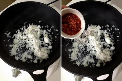 Tận dụng cơm nguội làm bánh rán ăn sáng cực ngon 8