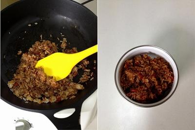Tận dụng cơm nguội làm bánh rán ăn sáng cực ngon 9