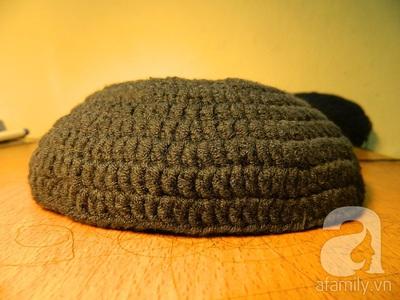 Hướng dẫn móc mũ len đơn giản mà dễ thương 7