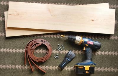 Tự làm kệ treo tường đơn giản nhiều tiện ích 3