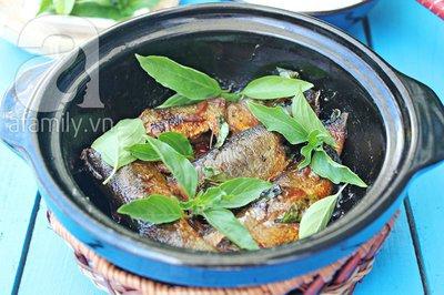Đậm đà lạ miệng với món cá kho húng quế 14