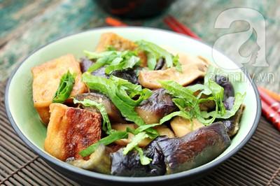 Đầu tháng, ăn chay ngon với đậu phụ kho cà tím 14