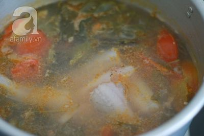 Giản dị món canh cá khoai nấu lá giang 22