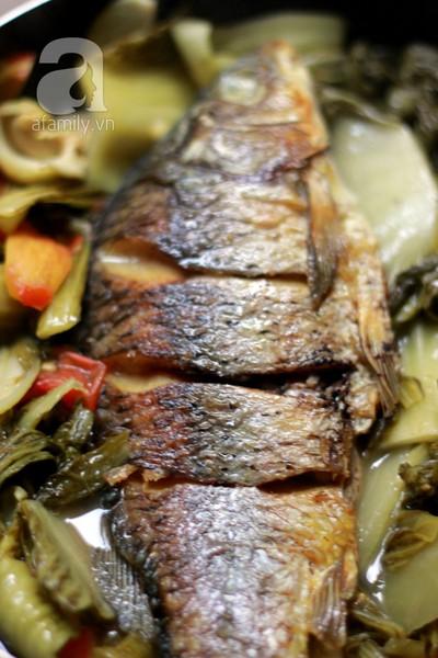 Mùa đông, không thể bỏ qua món cá chép om dưa! 11
