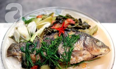 Mùa đông, không thể bỏ qua món cá chép om dưa! 13