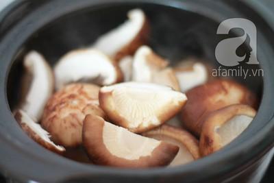 Thịt kho nấm đậm đà thơm phức 15