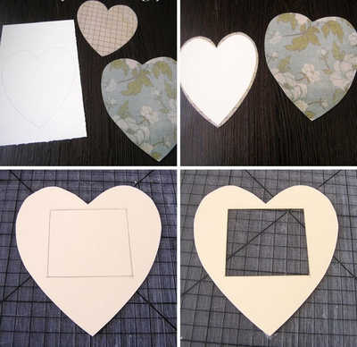 Tự chế khung ảnh trái tim lãng mạn 8