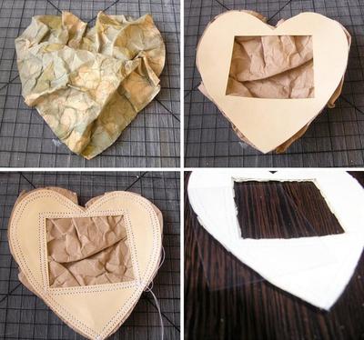 Tự chế khung ảnh trái tim lãng mạn 10