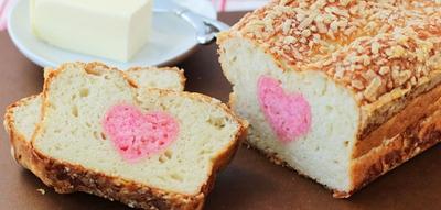 Khéo tay làm bánh mì nhân hình trái tim siêu xinh 16