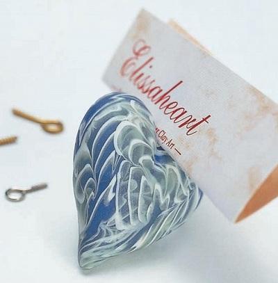 Tự chế mặt chuyền trái tim với hoa văn tuyệt đẹp 11