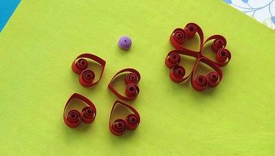 Tự làm thiệp hoa giấy xoắn nhỏ xinh đáng yêu 6