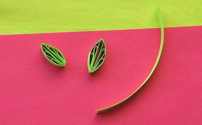 Tự làm thiệp hoa giấy xoắn nhỏ xinh đáng yêu 10