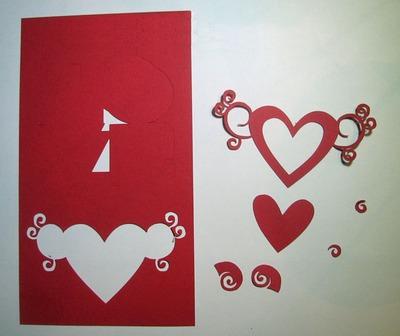Làm thiệp nổi siêu đáng yêu cho mùa Valentine 4