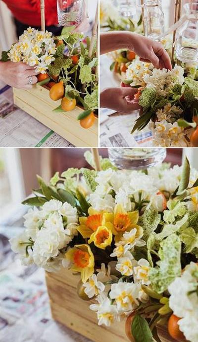 Cắm hoa đẹp và lạ mắt theo phong cách đồng nội 12