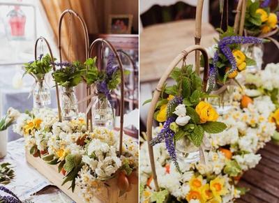 Cắm hoa đẹp và lạ mắt theo phong cách đồng nội 14