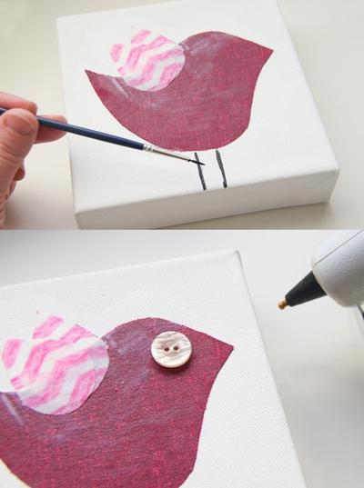 Tự chế bộ tranh trang trí phòng bé đơn giản mà đẹp 10