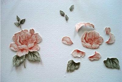 Tự làm thiệp nổi hoa hồng dễ dàng và đẹp mắt 6