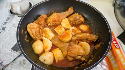 Xuýt xoa món gà kho khoai tây kiểu Hàn 16