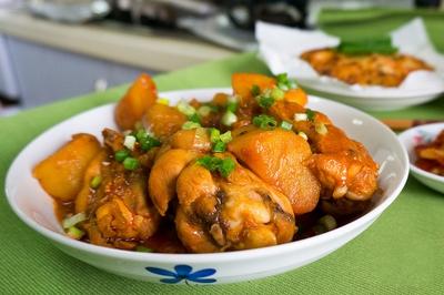 Xuýt xoa món gà kho khoai tây kiểu Hàn 17