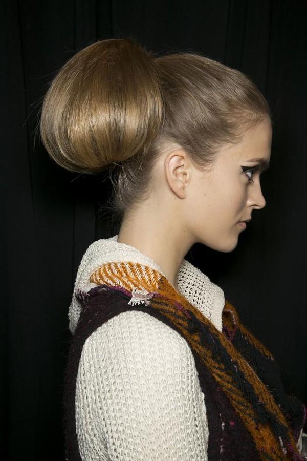 10 gợi ý tóc búi tuyệt vời cho Thu/Đông 2013 1