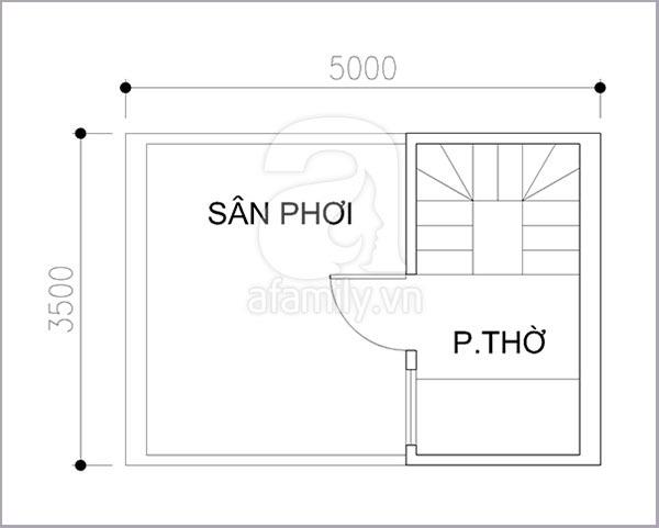 Thiết kế khoa học cho nhà diện tích nhỏ 17 mét vuông 4