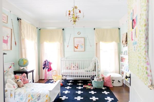 """Ngắm phòng ngủ tuyệt đẹp của 2 """"nàng công chúa"""" 5"""