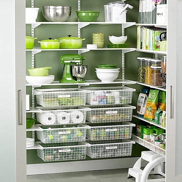 """""""Tuyệt chiêu"""" sắp xếp tủ lưu trữ thực phẩm ngăn nắp đón Tết 4"""