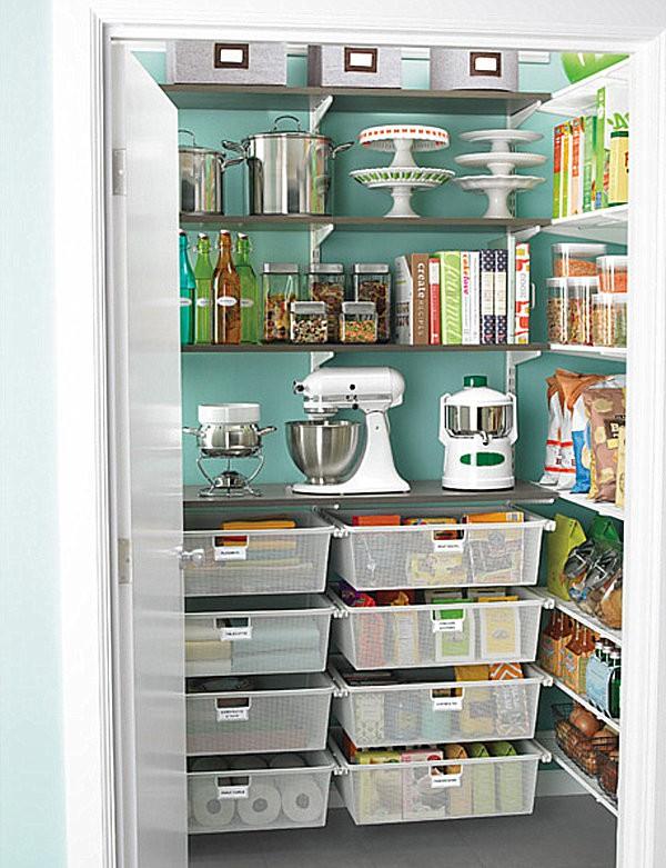 """""""Tuyệt chiêu"""" sắp xếp tủ lưu trữ thực phẩm ngăn nắp đón Tết 5"""