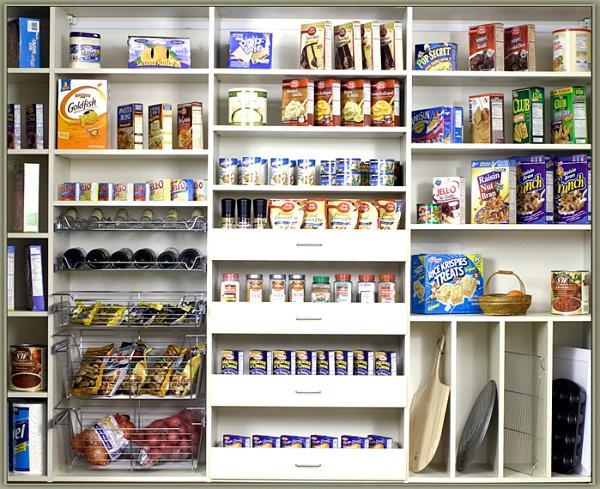 """""""Tuyệt chiêu"""" sắp xếp tủ lưu trữ thực phẩm ngăn nắp đón Tết 1"""