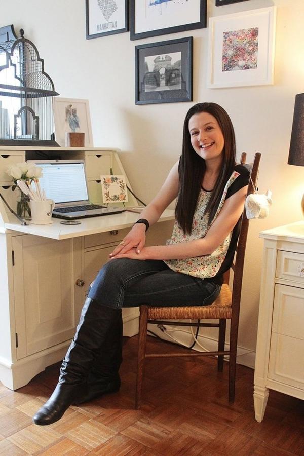 Căn hộ toàn sách tuyệt đẹp của nữ blogger Mỹ đình đám 1