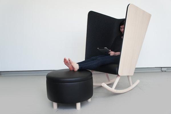 Những mẫu ghế nghỉ đa năng đáng mơ ước cho dân văn phòng 3