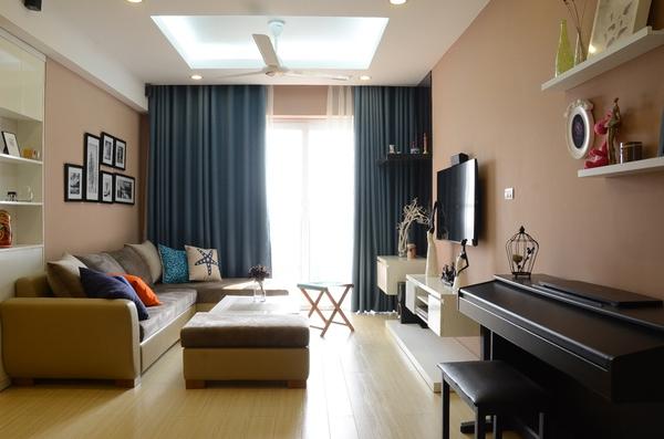 Ghé thăm căn hộ yên bình của một gia đình trẻ ở Hà Nội 2
