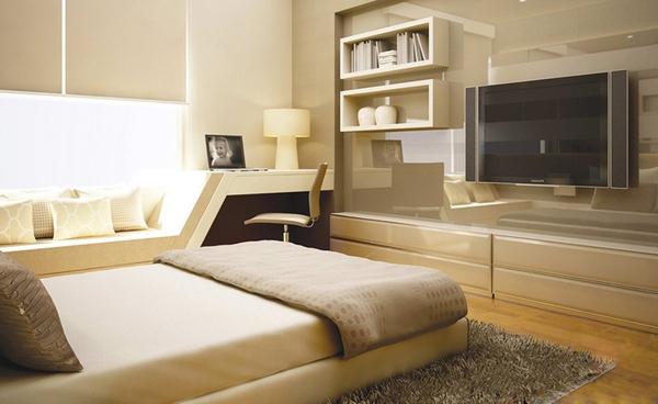 Tư vấn bố trí nội thất cho phòng ngủ có diện tích 12m² 2